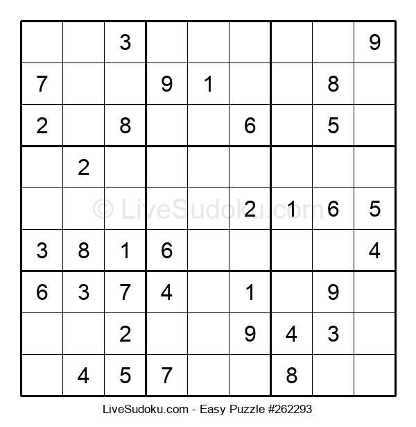 Beginners Puzzle #262293