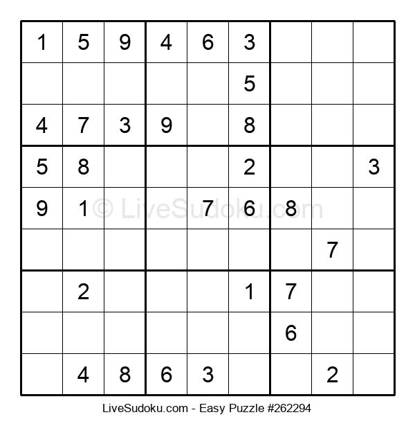 Beginners Puzzle #262294