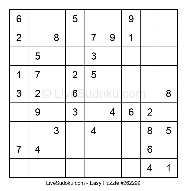 Beginners Puzzle #262299