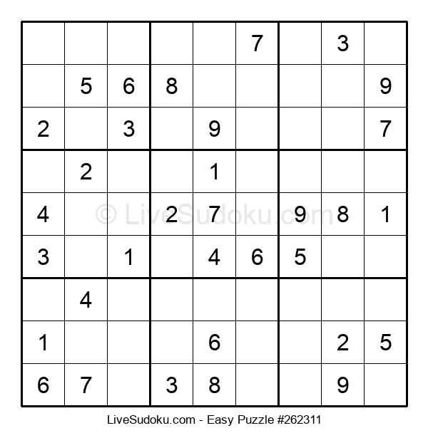 Beginners Puzzle #262311
