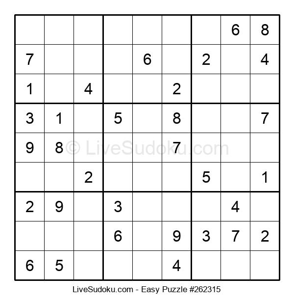 Beginners Puzzle #262315