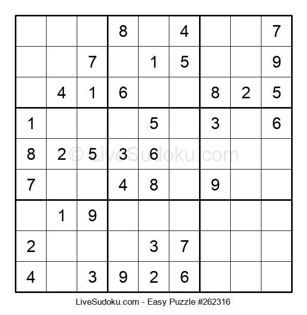 Beginners Puzzle #262316
