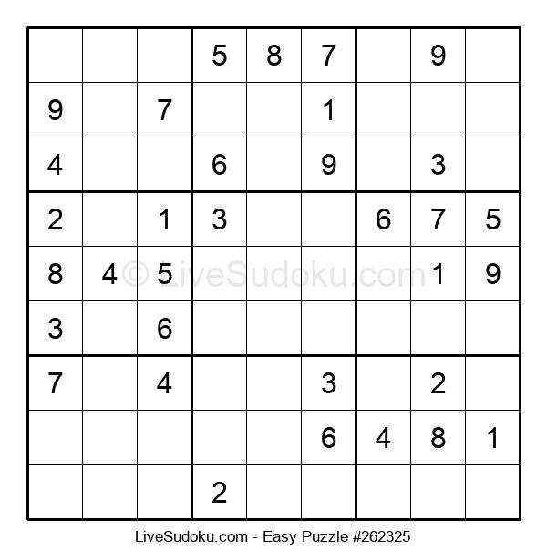 Beginners Puzzle #262325