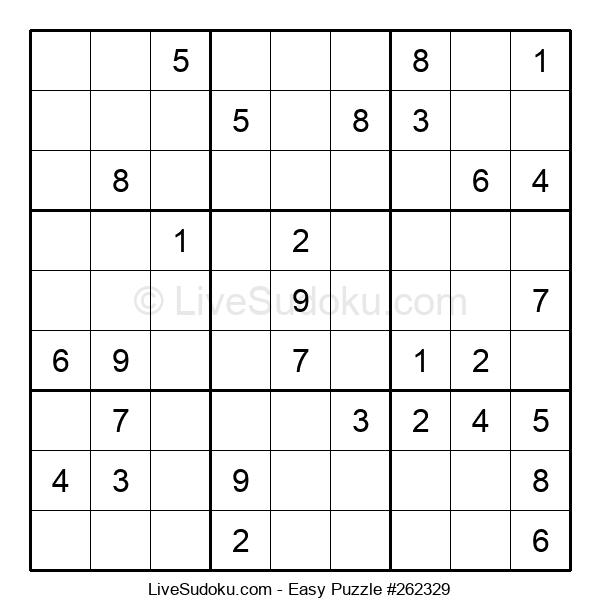 Beginners Puzzle #262329