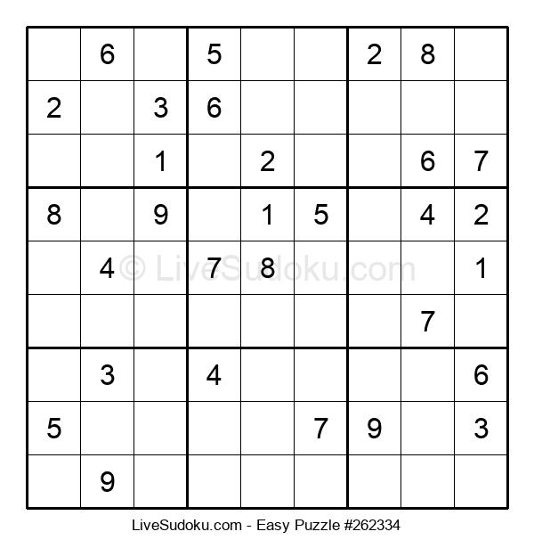Beginners Puzzle #262334