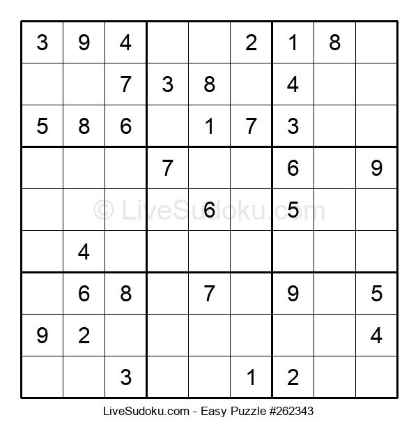Beginners Puzzle #262343