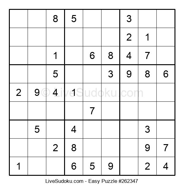 Beginners Puzzle #262347