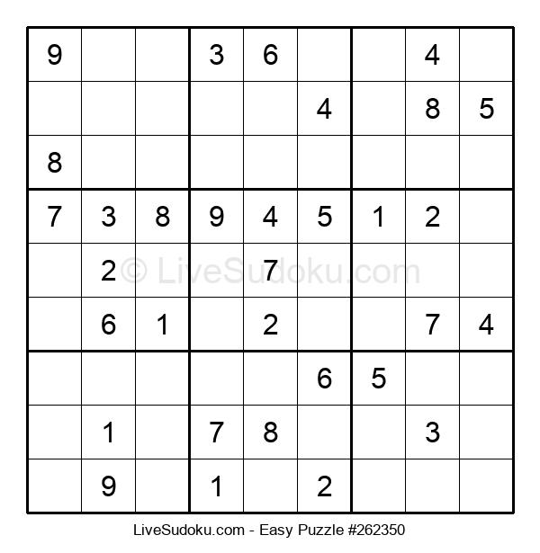 Beginners Puzzle #262350