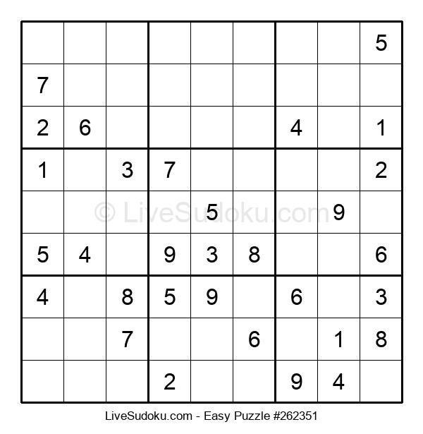 Beginners Puzzle #262351