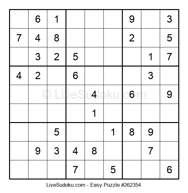 Beginners Puzzle #262354