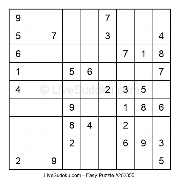 Beginners Puzzle #262355