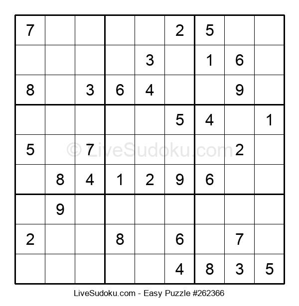 Beginners Puzzle #262366