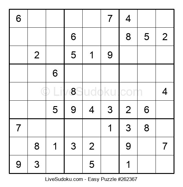 Beginners Puzzle #262367