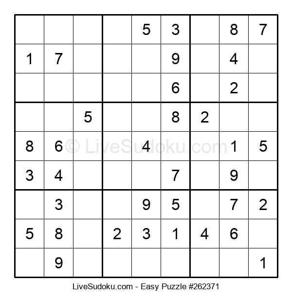 Beginners Puzzle #262371