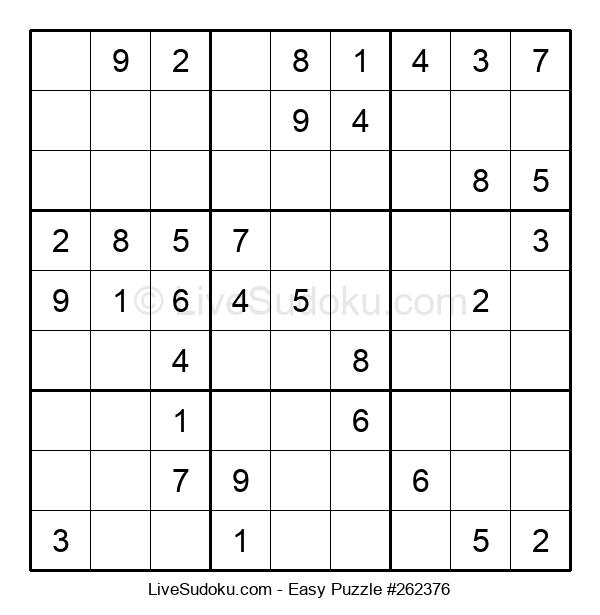 Beginners Puzzle #262376