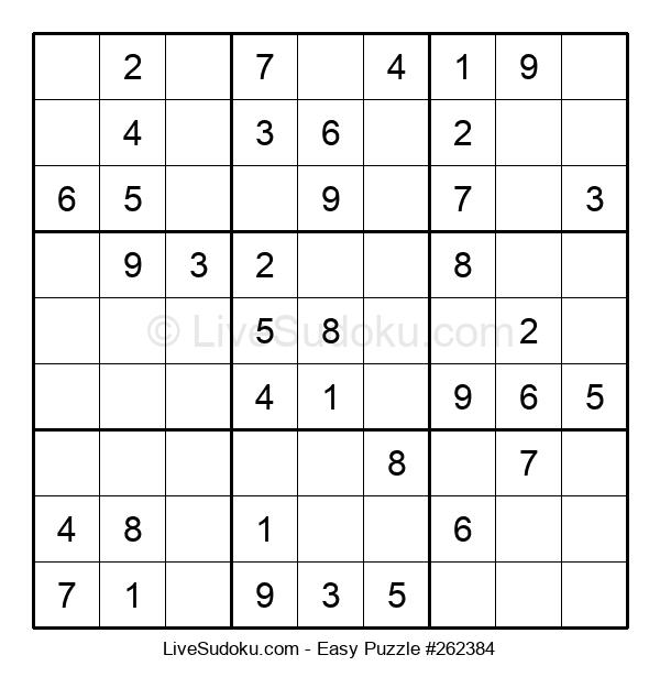 Beginners Puzzle #262384