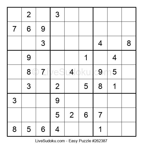 Beginners Puzzle #262387