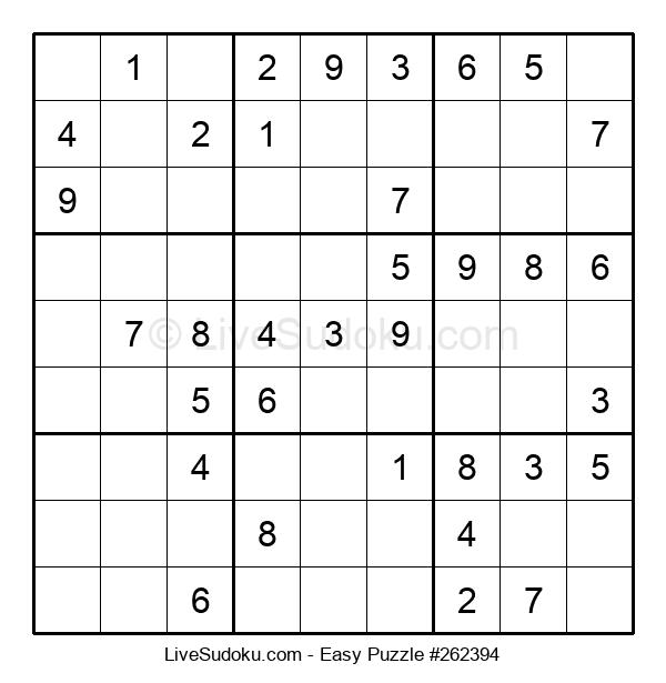 Beginners Puzzle #262394