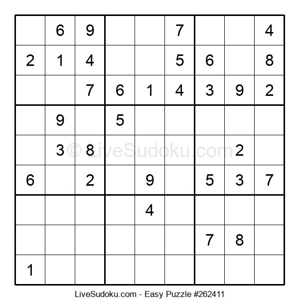 Beginners Puzzle #262411