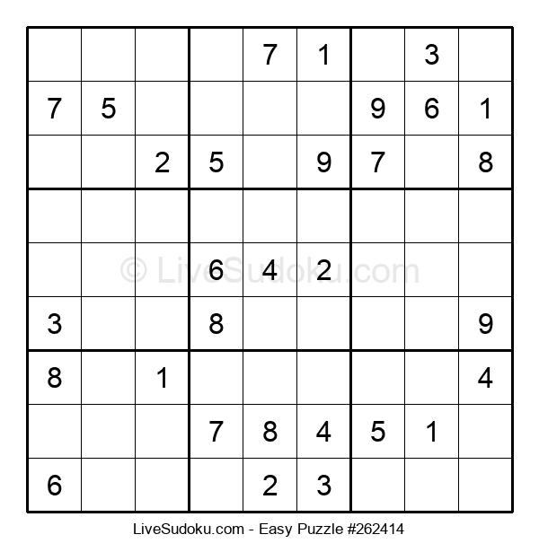 Beginners Puzzle #262414