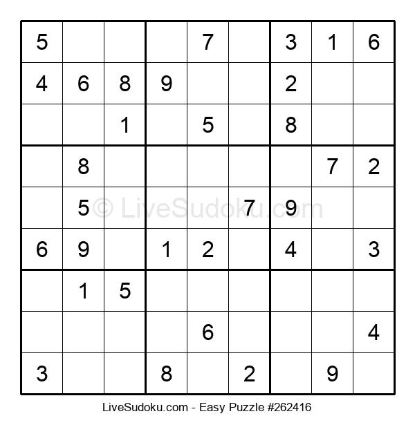 Beginners Puzzle #262416