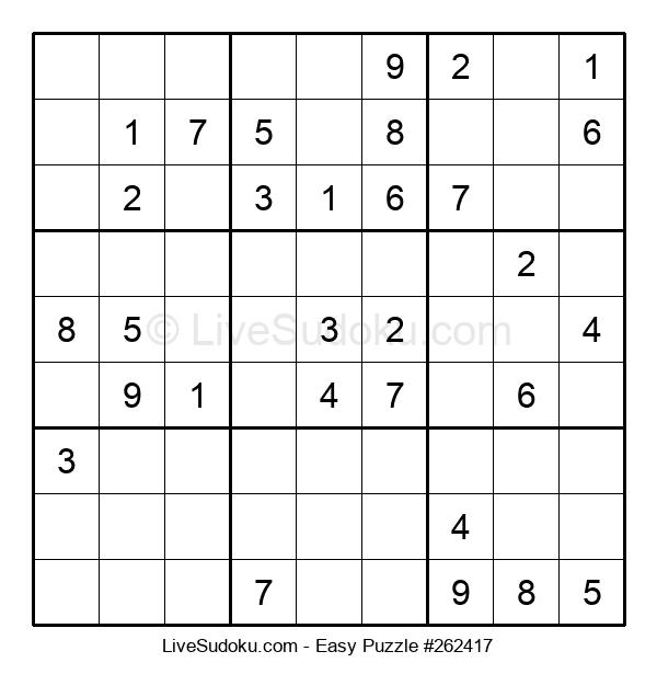 Beginners Puzzle #262417