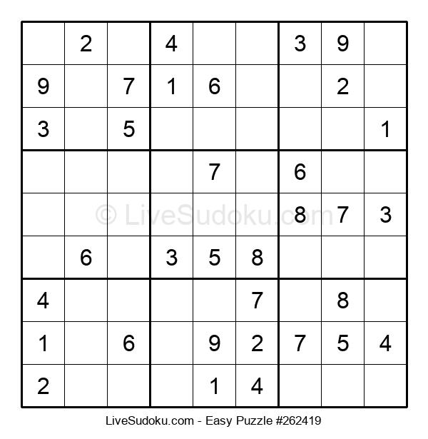 Beginners Puzzle #262419