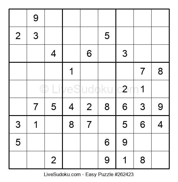 Beginners Puzzle #262423