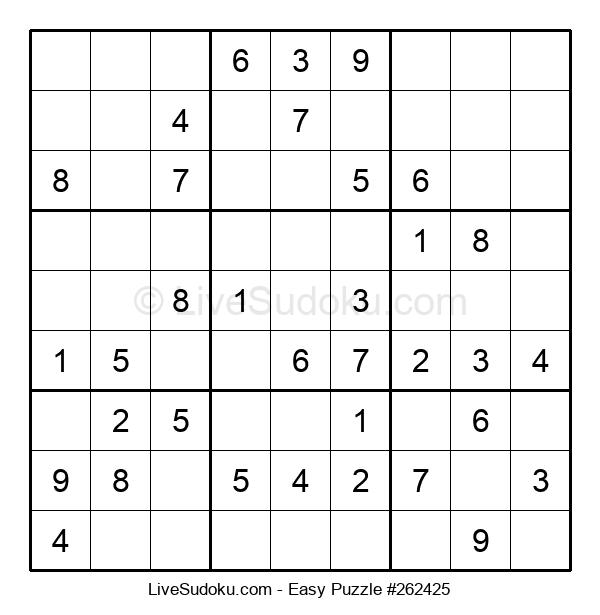 Beginners Puzzle #262425
