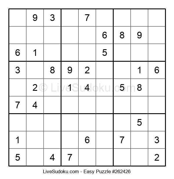 Beginners Puzzle #262426