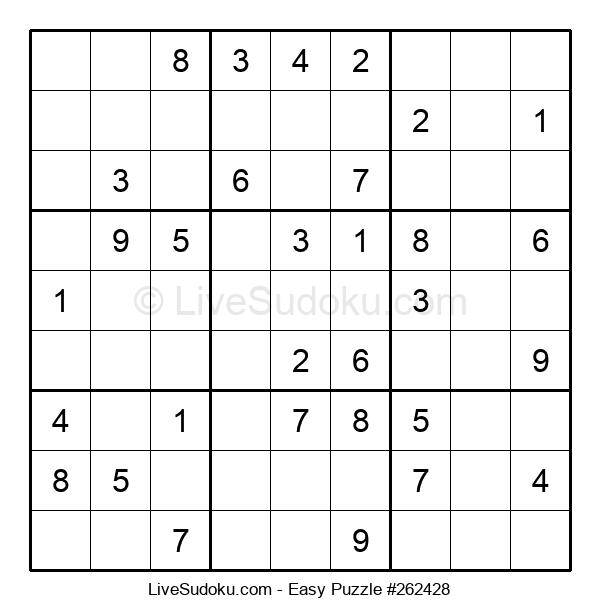 Beginners Puzzle #262428