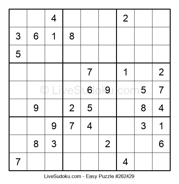 Beginners Puzzle #262429