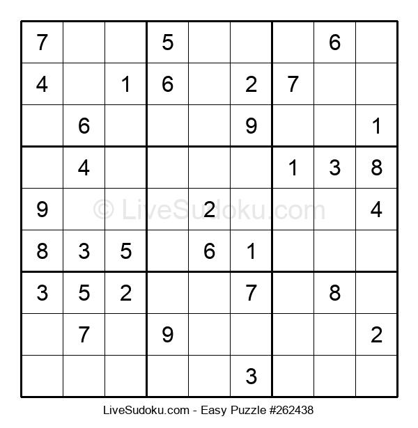 Beginners Puzzle #262438