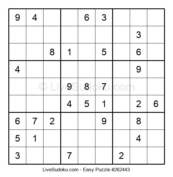 Beginners Puzzle #262443