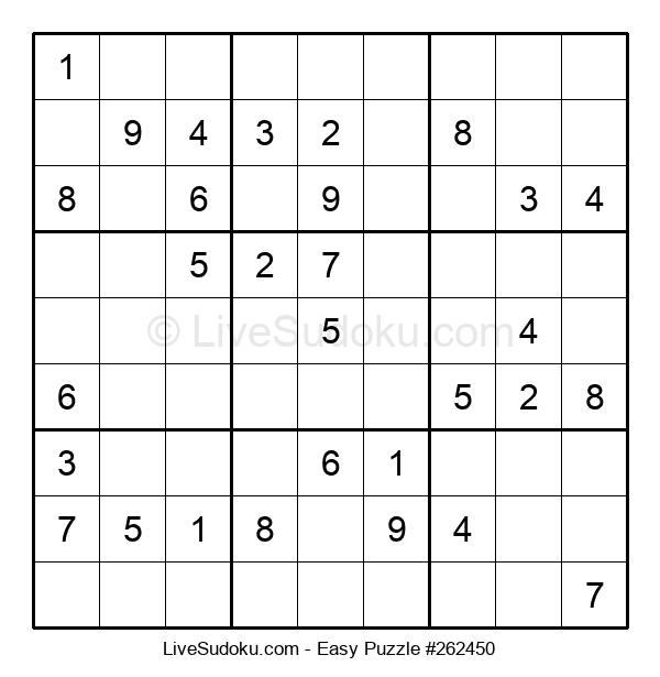 Beginners Puzzle #262450