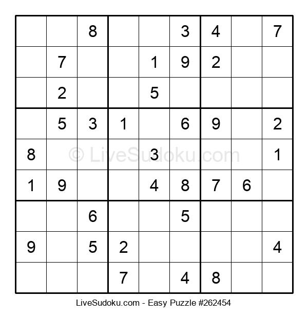 Beginners Puzzle #262454