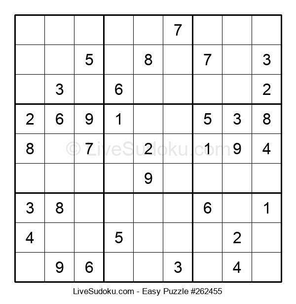 Beginners Puzzle #262455