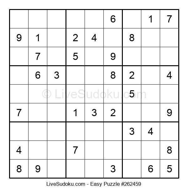 Beginners Puzzle #262459