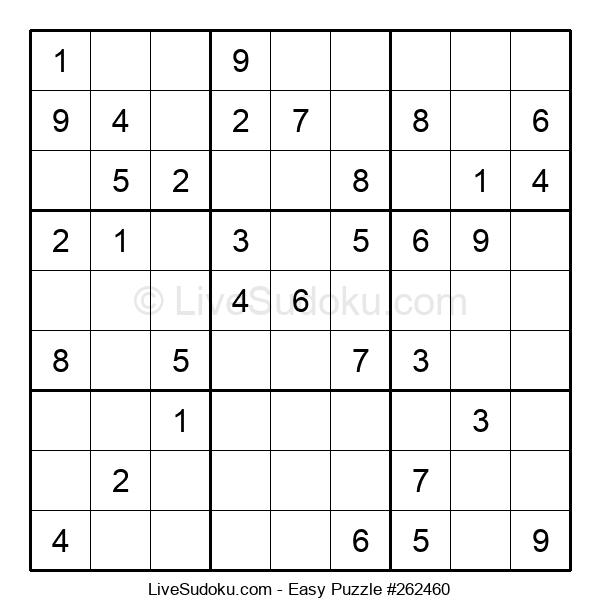 Beginners Puzzle #262460