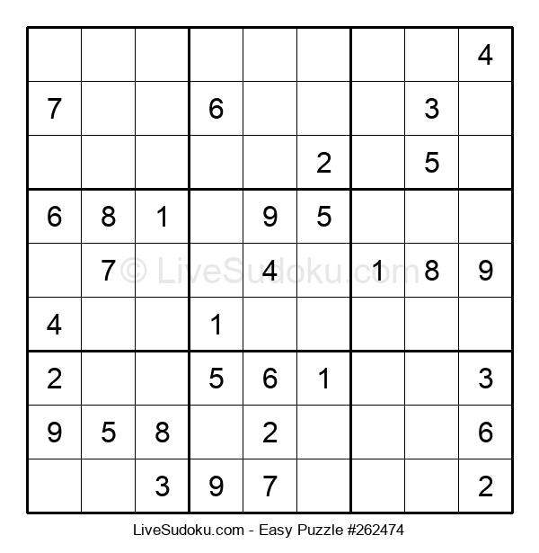 Beginners Puzzle #262474