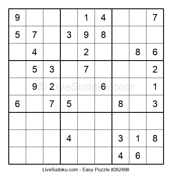 Beginners Puzzle #262498