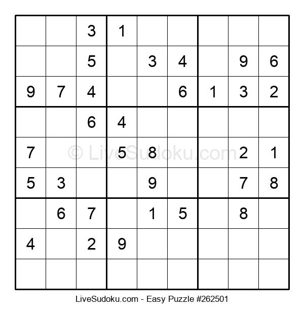 Beginners Puzzle #262501