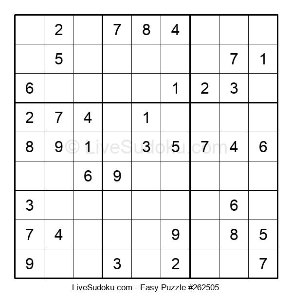 Beginners Puzzle #262505