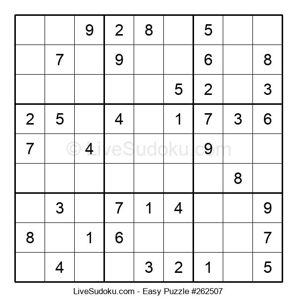 Beginners Puzzle #262507