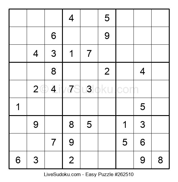 Beginners Puzzle #262510