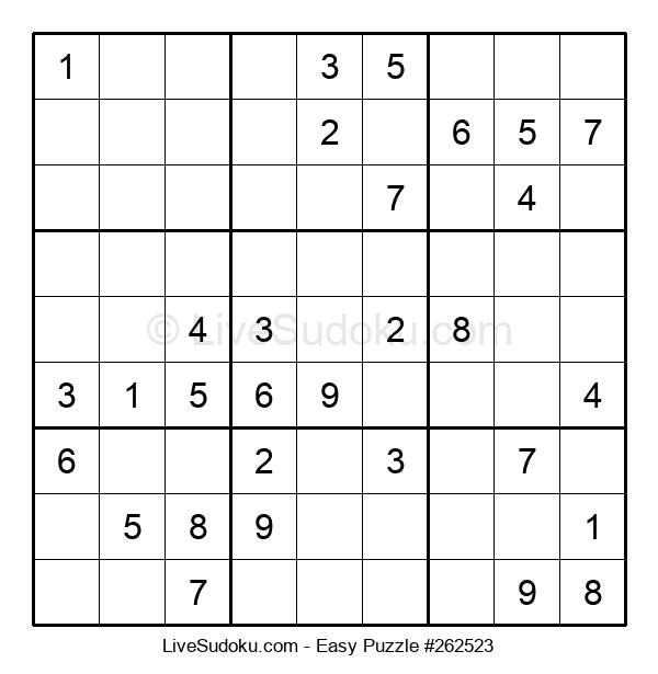 Beginners Puzzle #262523