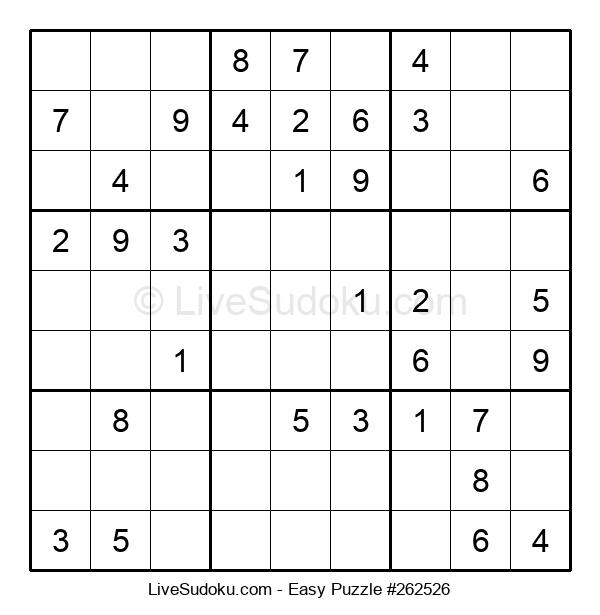 Beginners Puzzle #262526