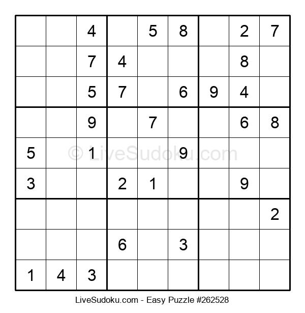 Beginners Puzzle #262528