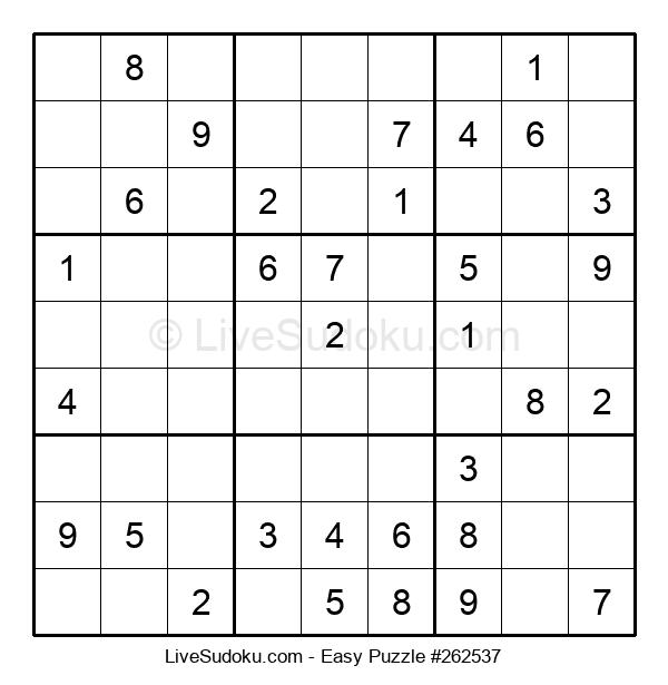 Beginners Puzzle #262537
