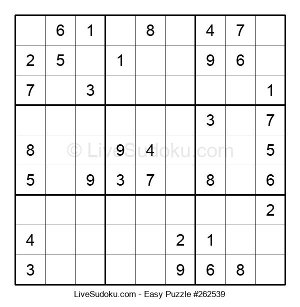 Beginners Puzzle #262539